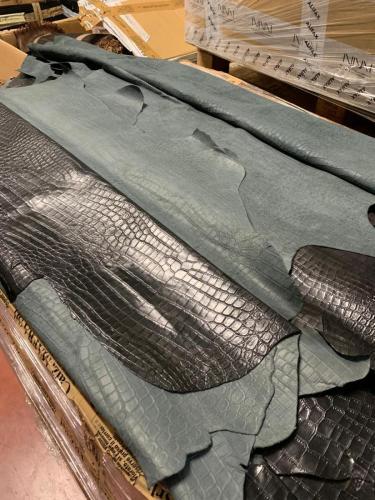 Vitelli stampa coccodrillo